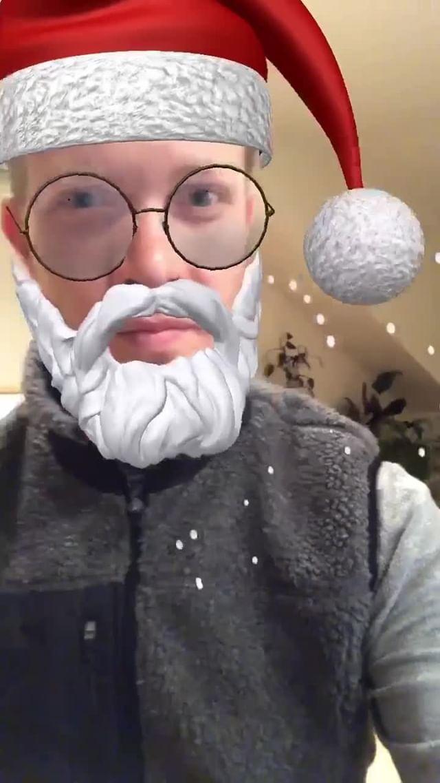 lazarnld Instagram filter Hipster Santa