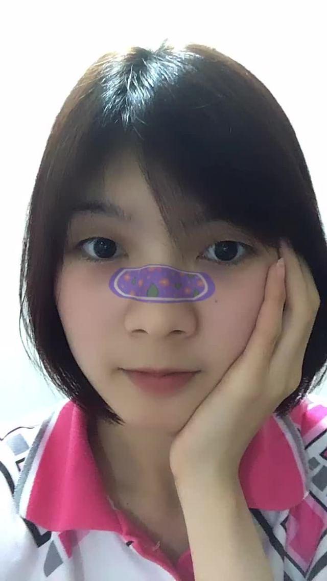Instagram filter CuteFace
