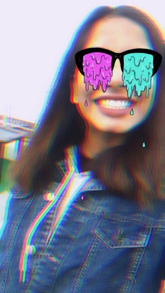 Instagram filter Eye Scream