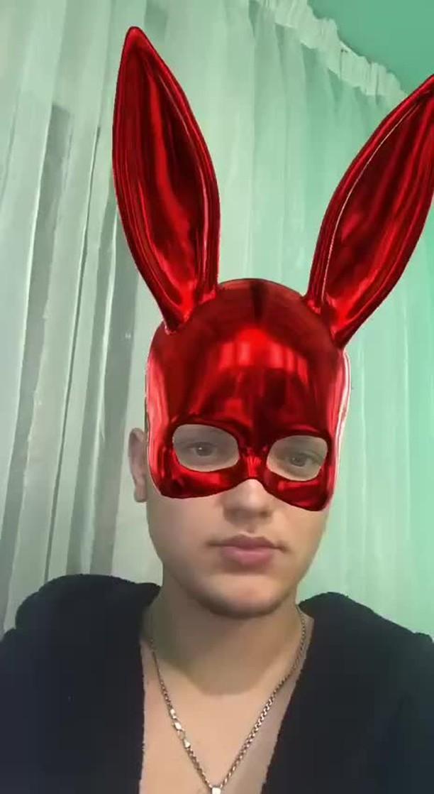 Instagram filter Bunny Mask