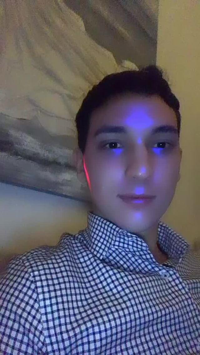 federicoceccoli Instagram filter ElectroFace