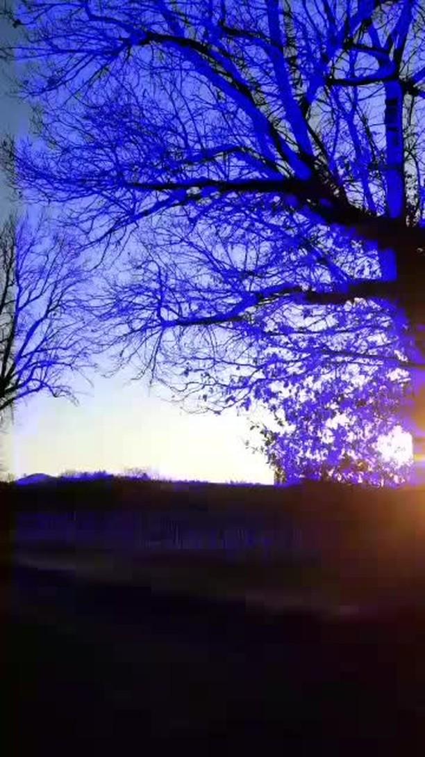 Instagram filter Blue Night