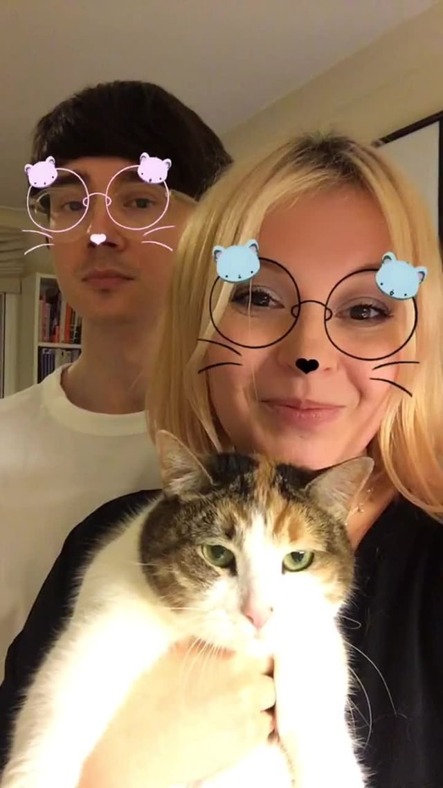 myz4 Instagram filter LOUD KITTIES Glasses