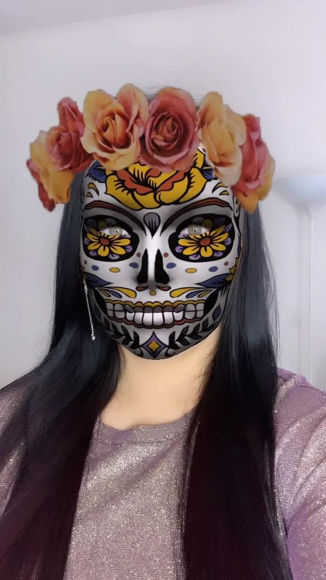 roxys_choice Instagram filter Sugar skull