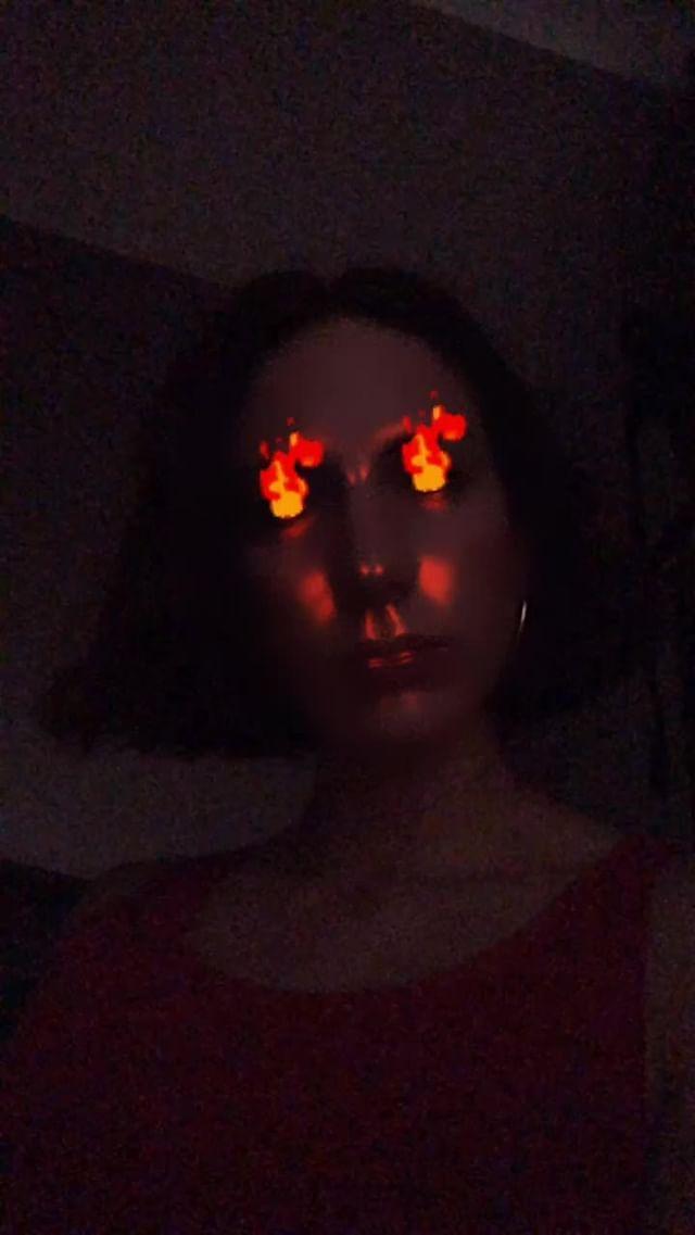johwska Instagram filter Fire walk with me