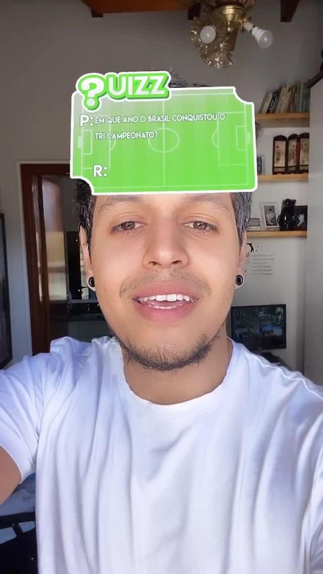 Instagram filter QUIZZ Copas do Mundo