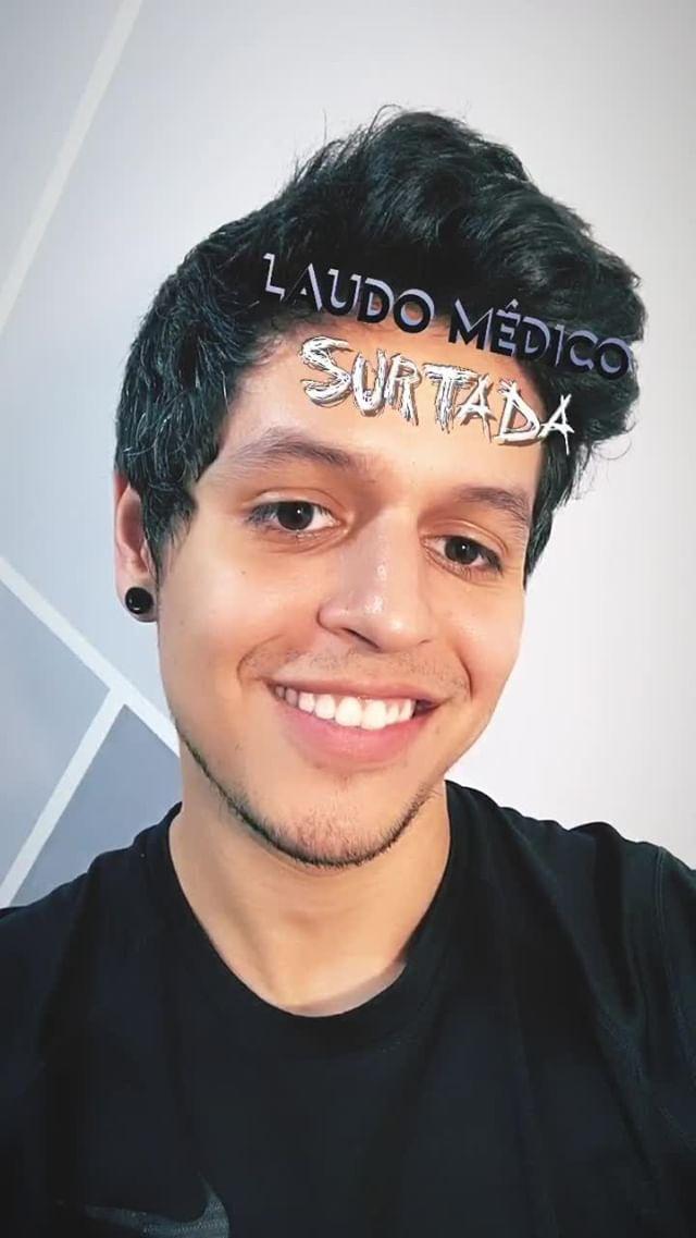 Instagram filter Laudo Médico