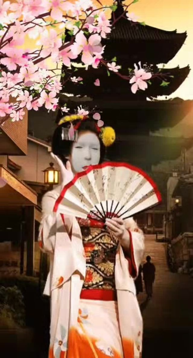 Instagram filter Geisha
