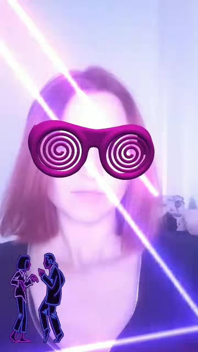 veklich.web Instagram filter neon dance