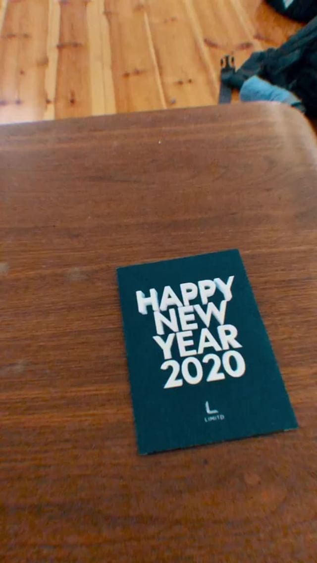 limitd_ Instagram filter HAPPY NEW YEAR