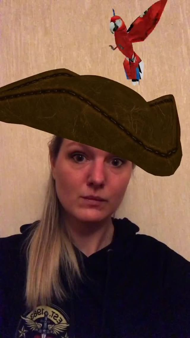 Instagram filter Pirate