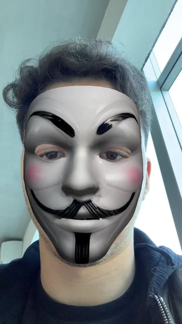 dylan_perel Instagram filter V of Vendetta