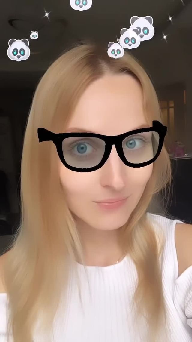 Instagram filter Panda