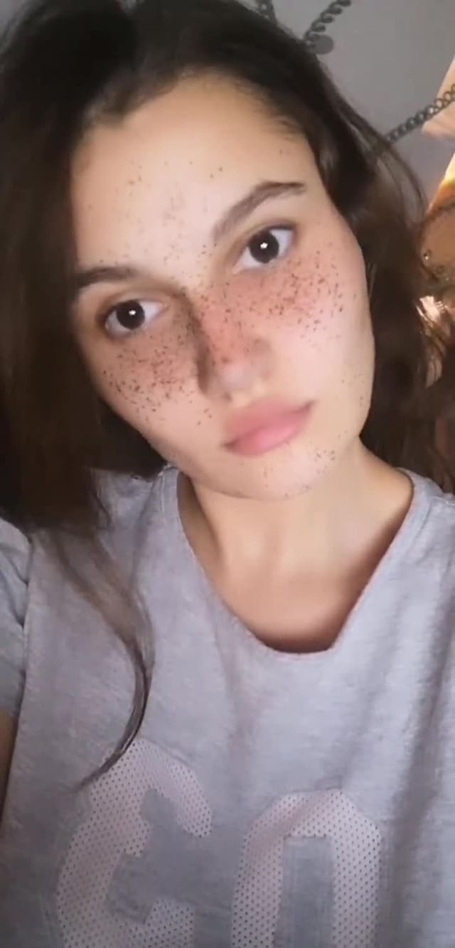 Instagram filter freckle doll