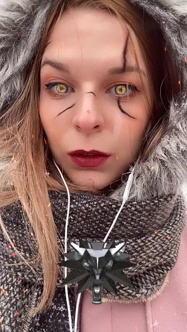 Instagram filter Geralt of Rivia