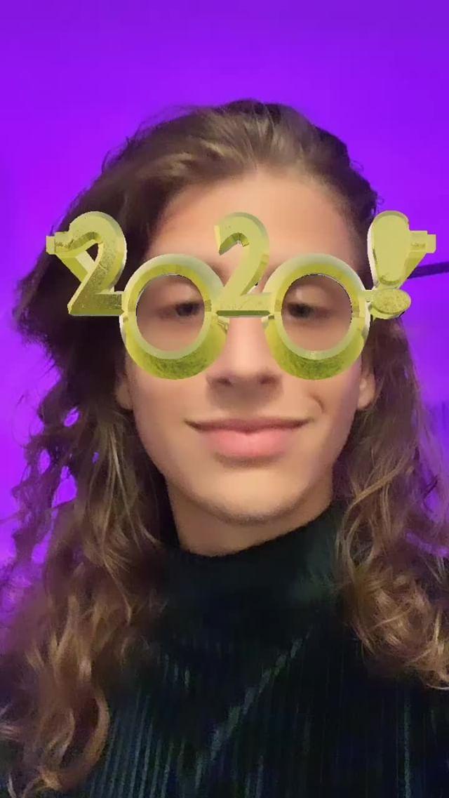 haritahov Instagram filter GOLDEN NEW YEAR