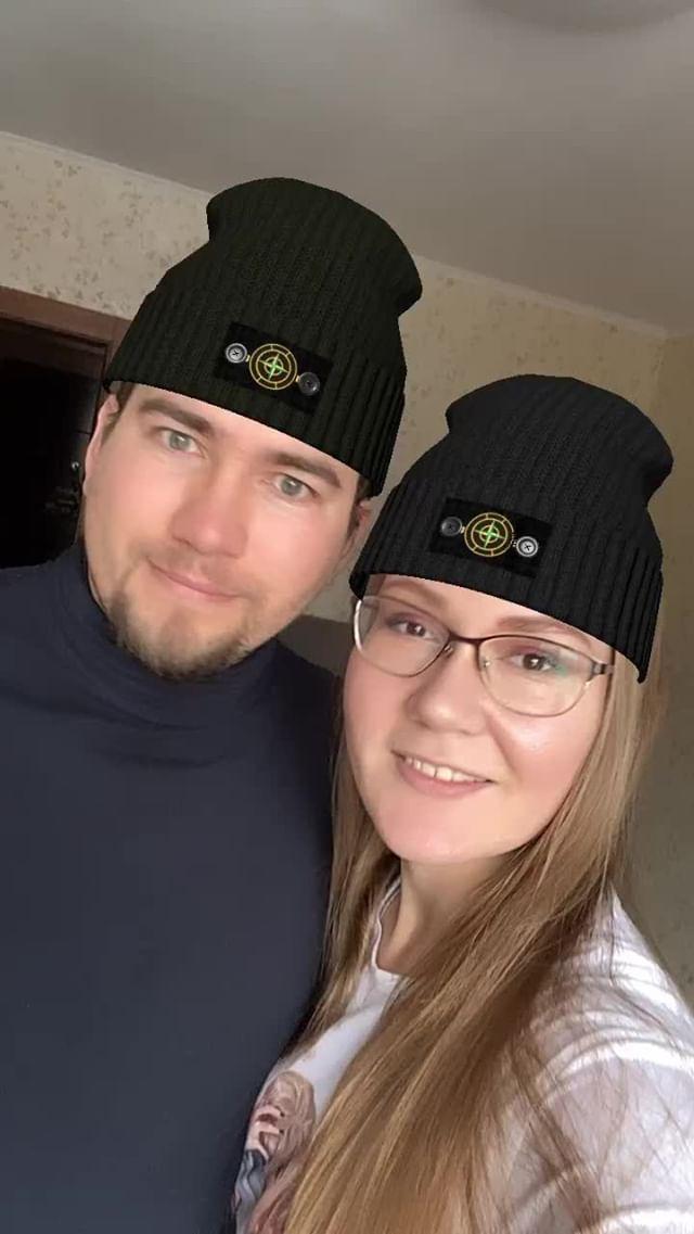 Instagram filter Stone island hat