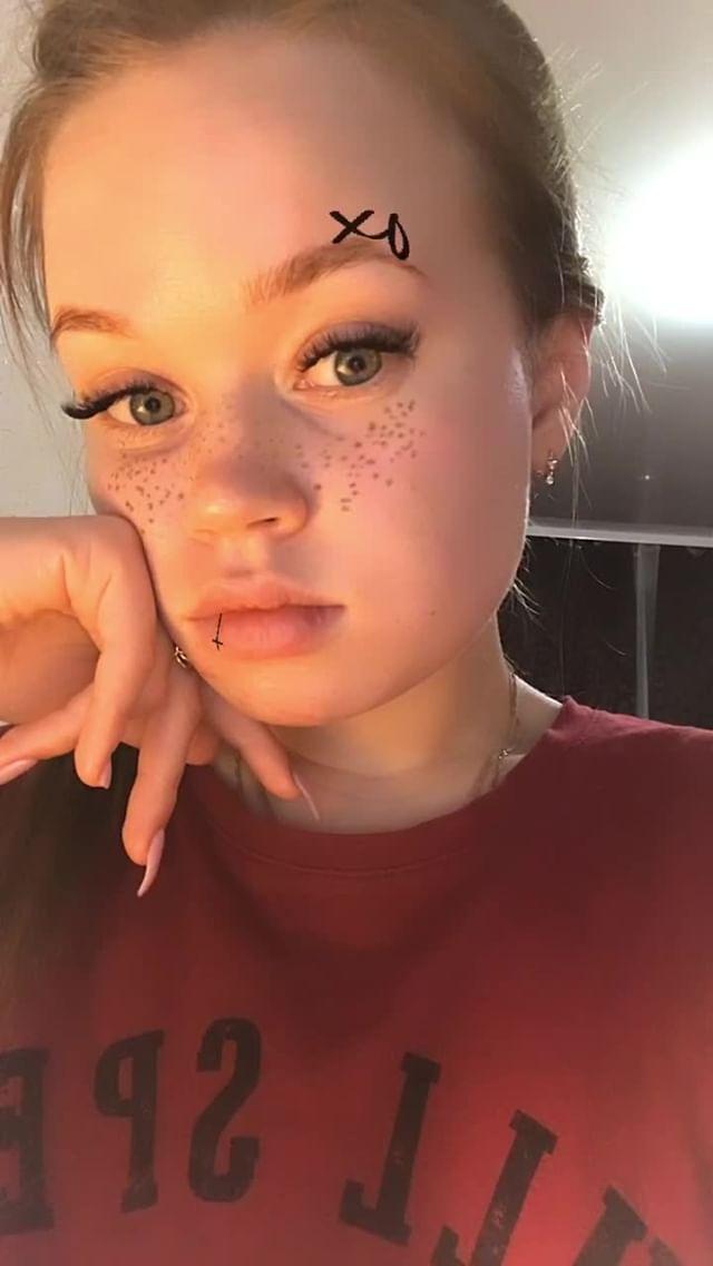Instagram filter веснушка