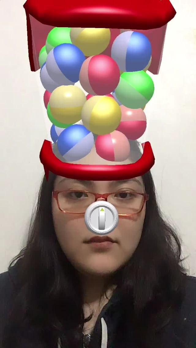 Instagram filter Gachapon