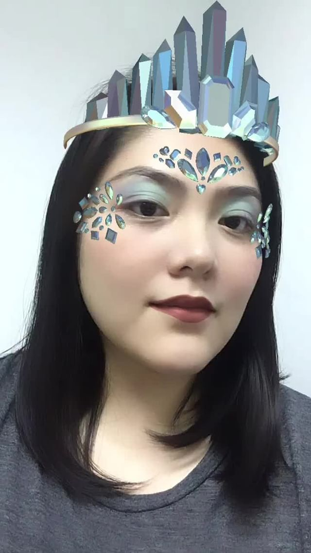 Instagram filter Crystal Queen