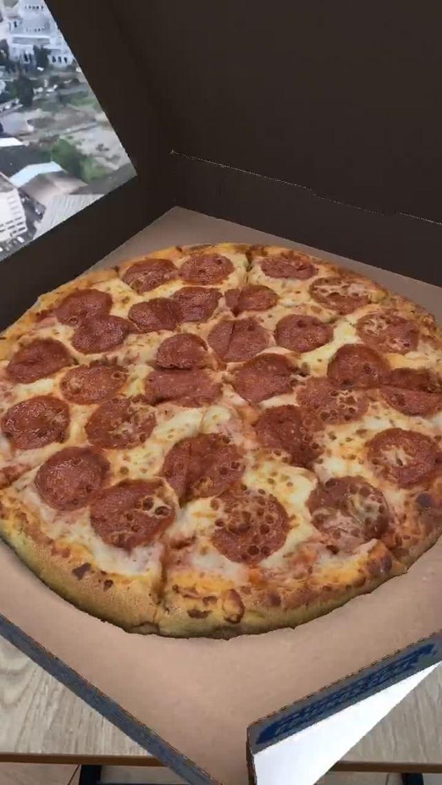 Instagram filter Domino's Pizza