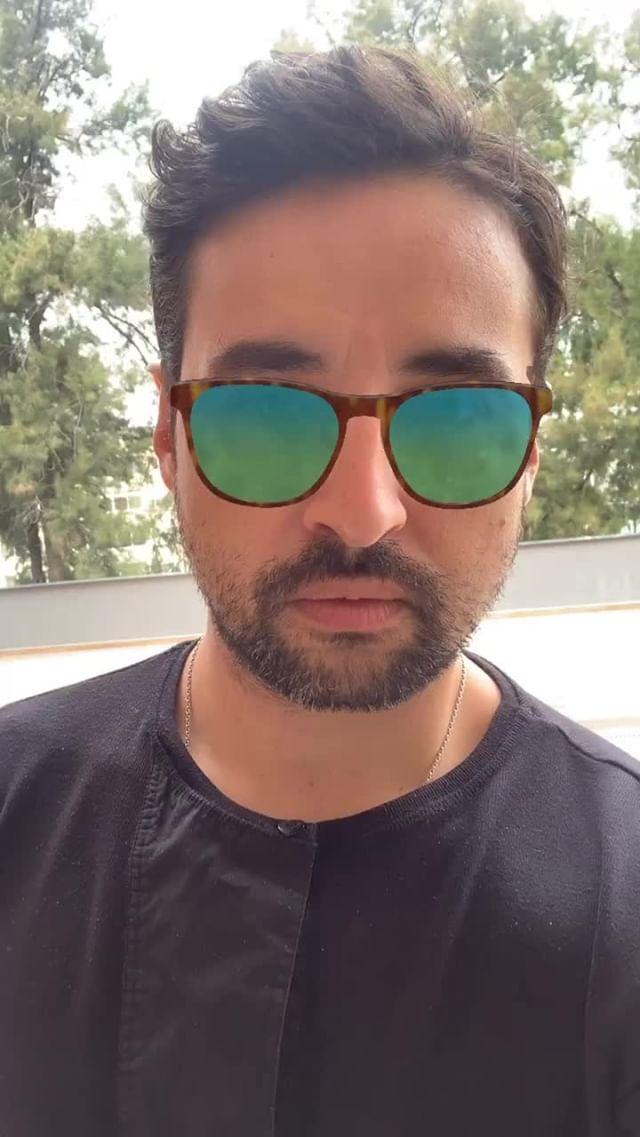 Instagram filter Designer Sunglasses