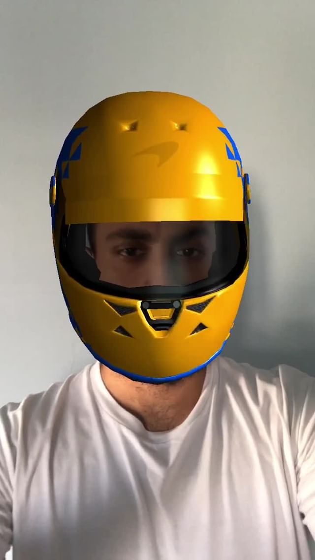 georgio.copter Instagram filter TEAMS HELMETS