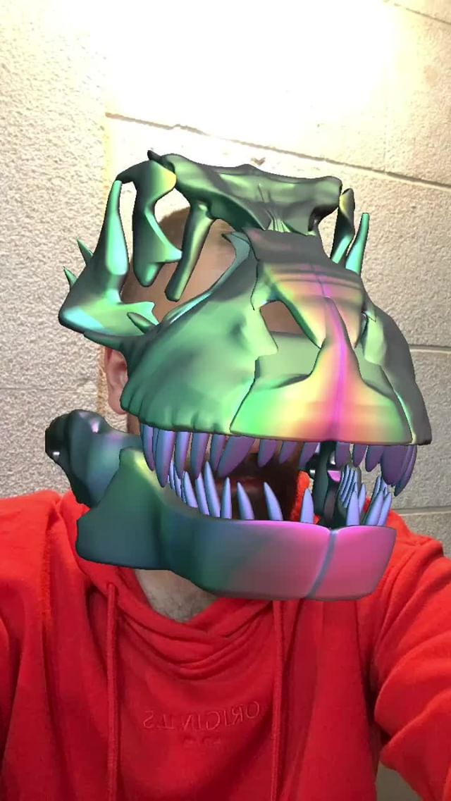 Instagram filter T-REX COLORS