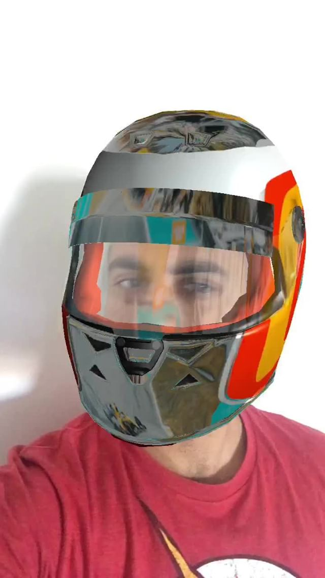 Instagram filter HELMET