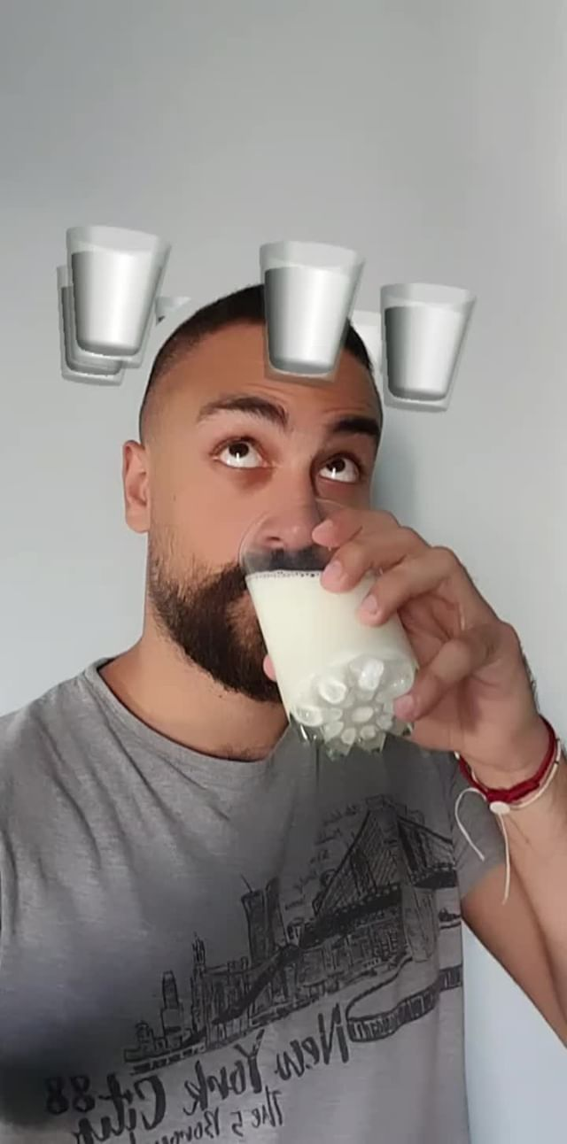 Instagram filter MILK