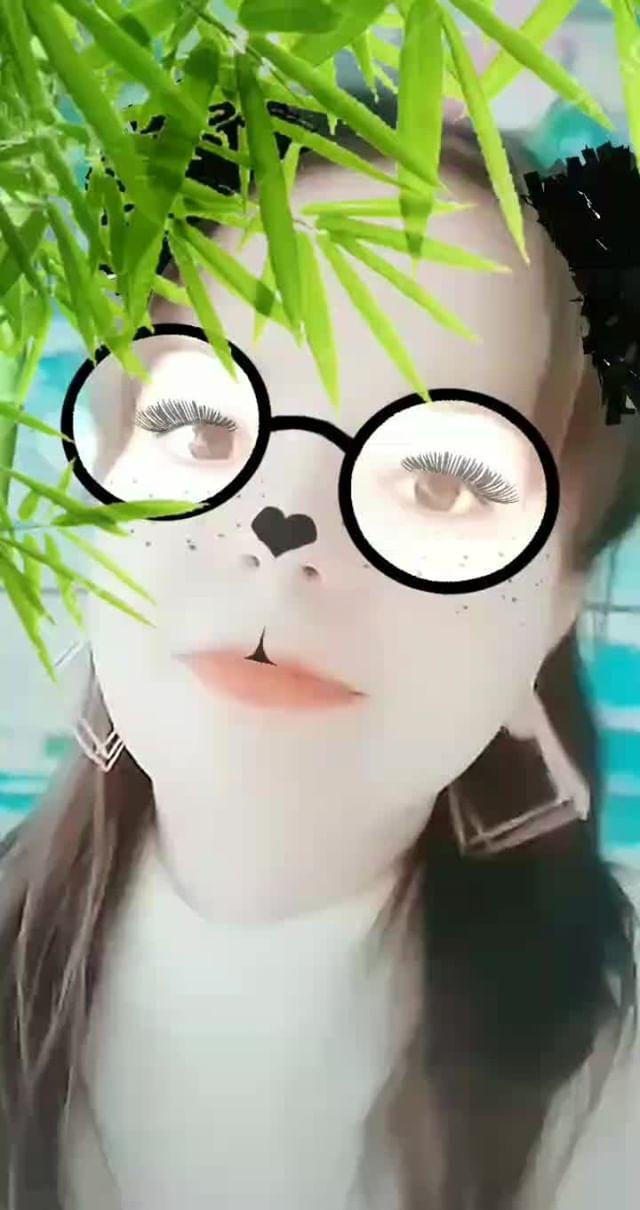 Instagram filter Я панда