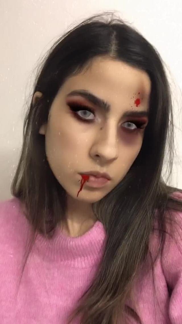 Instagram filter Zombie