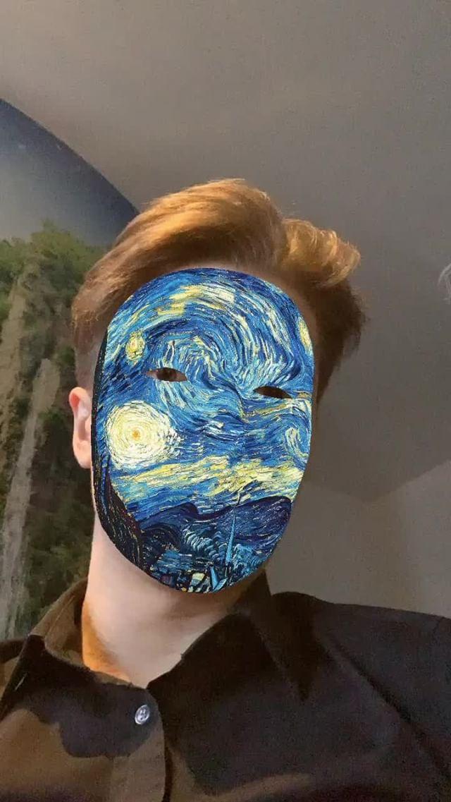 Instagram filter Art mask