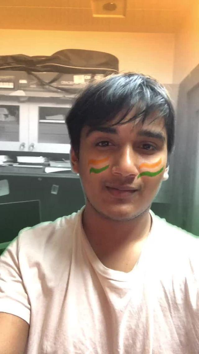 n3eljoshi Instagram filter Team India