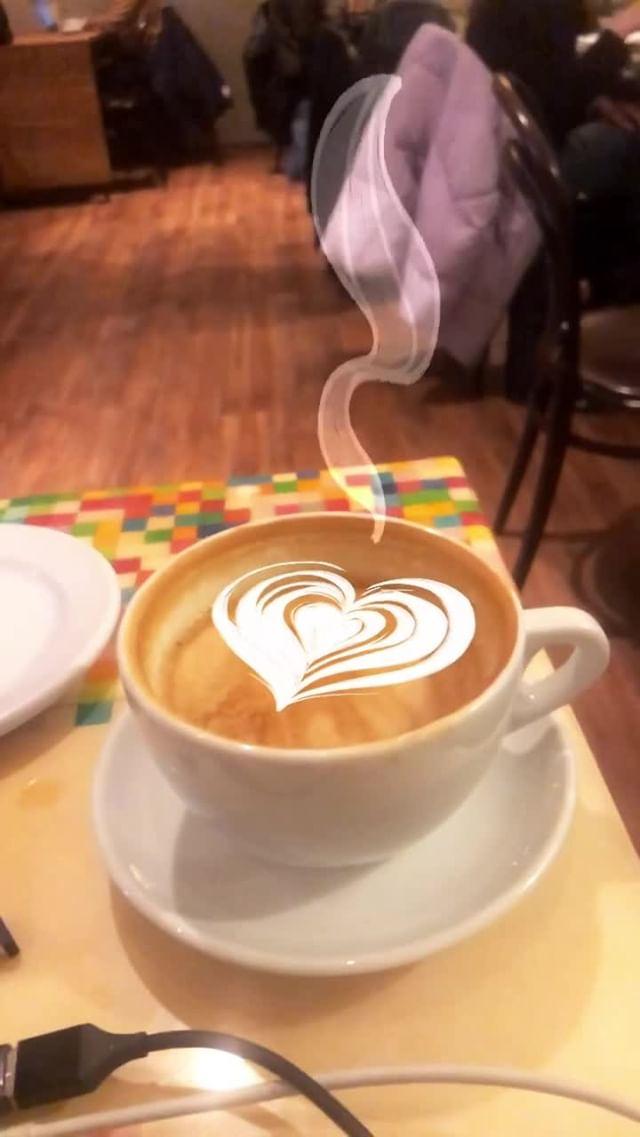 meredith_jae Instagram filter Latte Art