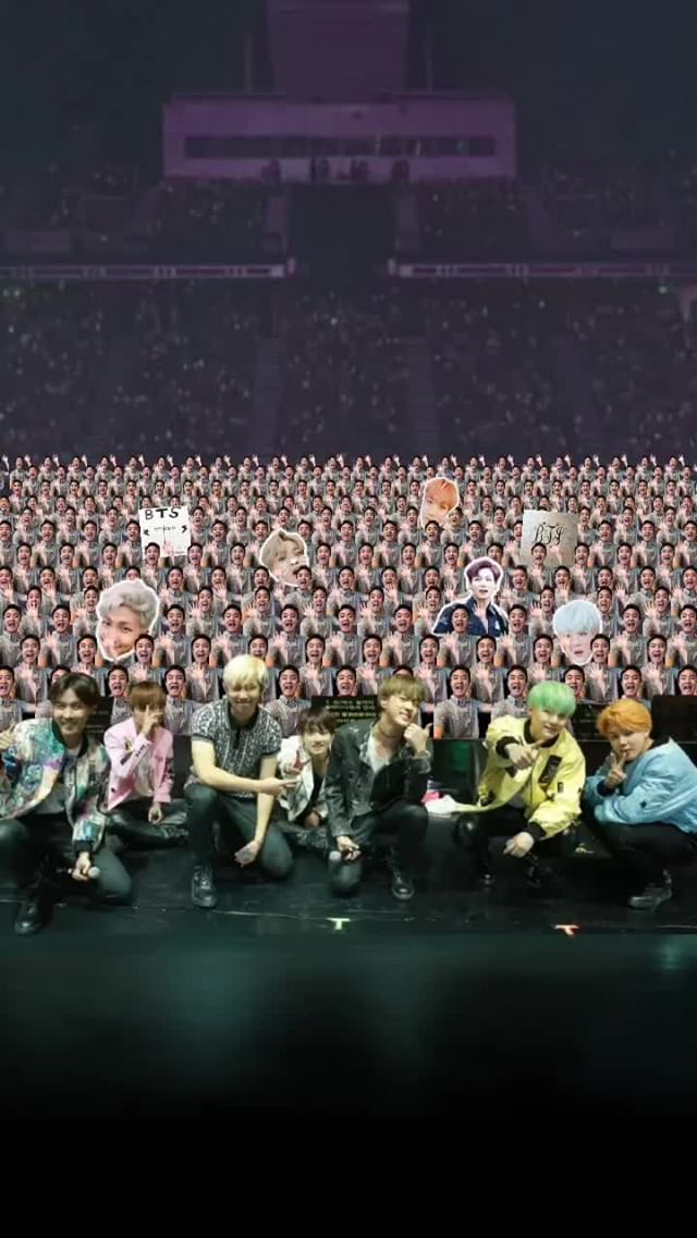 at.augmented Instagram filter BTS ARMY