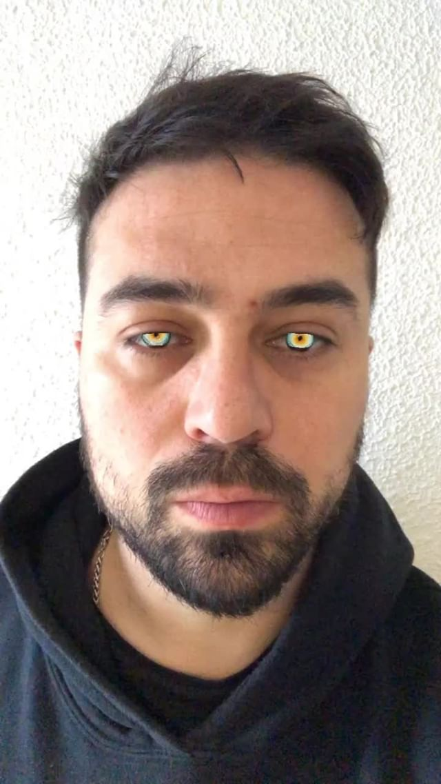 Instagram filter Animal Eyes