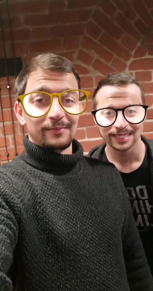 Instagram filter twins