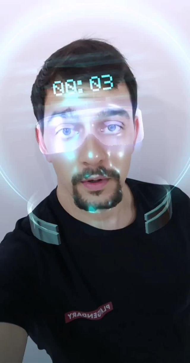 Instagram filter Sci-fi