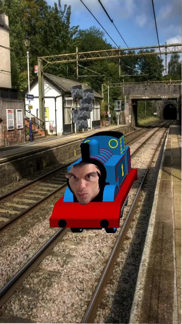 Instagram filter You the Tank Engine