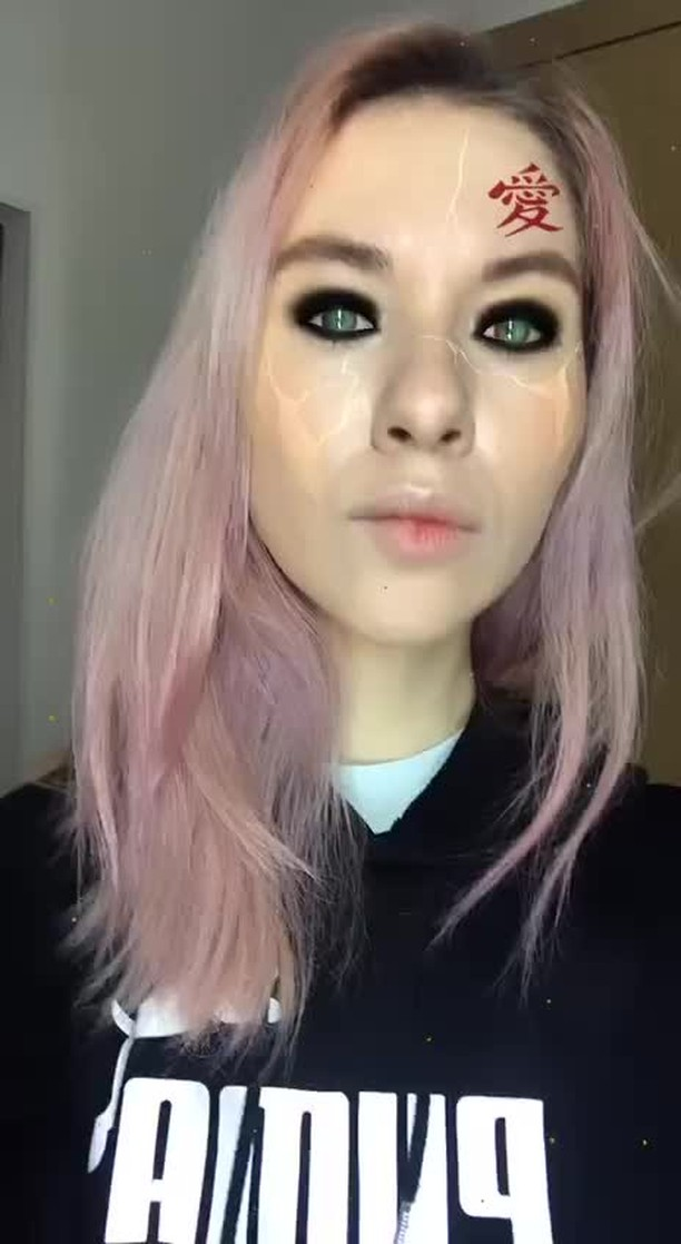 Instagram filter Gaara