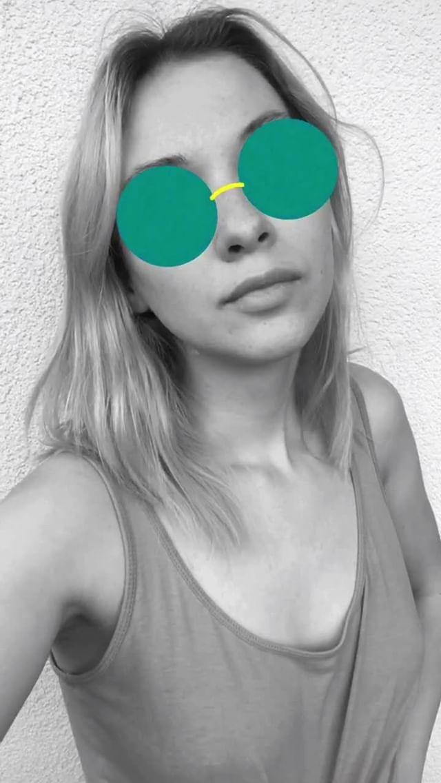avonnokaz Instagram filter glasses