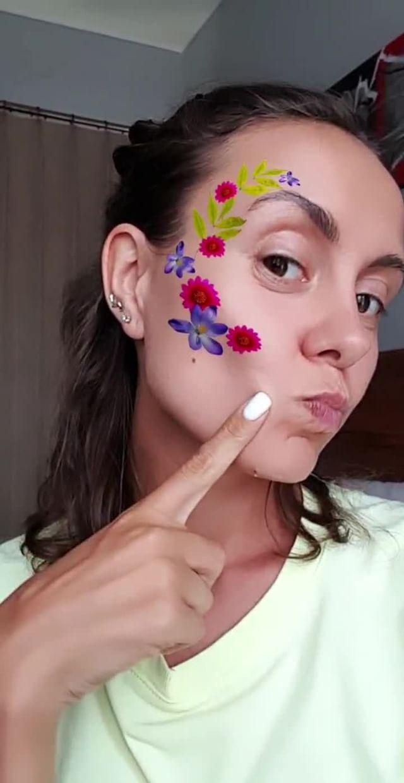 Instagram filter Flower mood