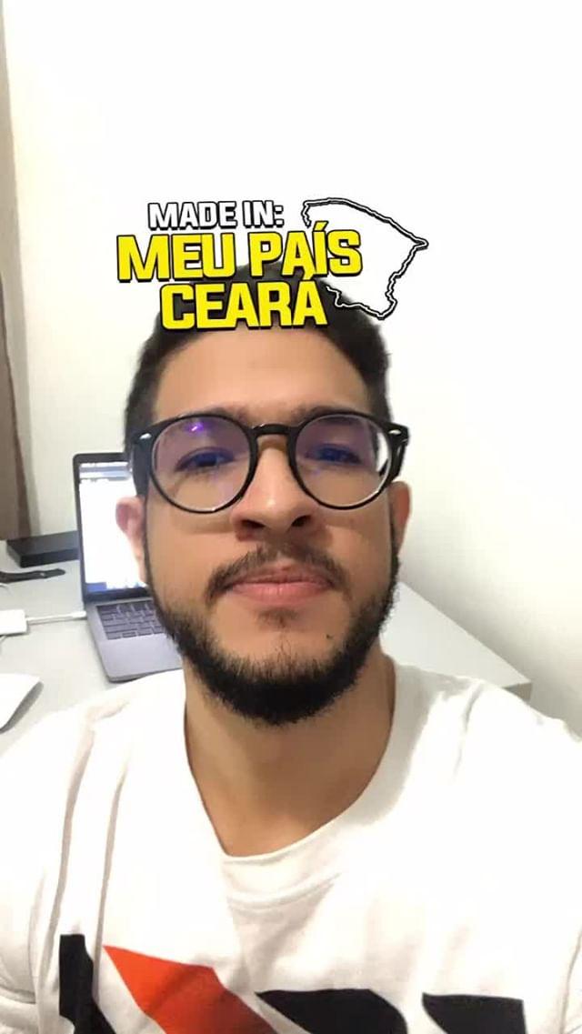 Instagram filter meu país Ceará