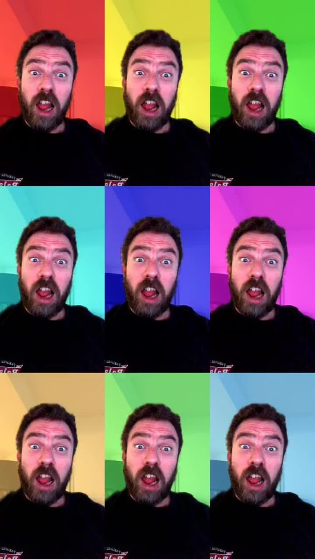 anonamister Instagram filter The Color Nine