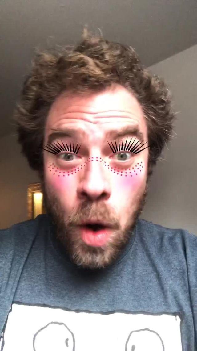 anonamister Instagram filter Pretty Pointy Lashes
