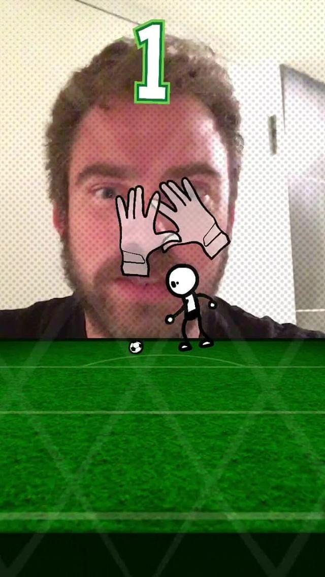 anonamister Instagram filter Soccer Challenge