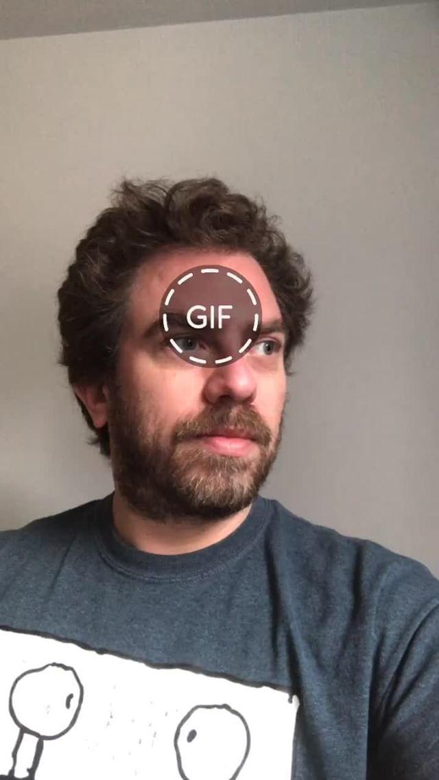 Instagram filter GIF