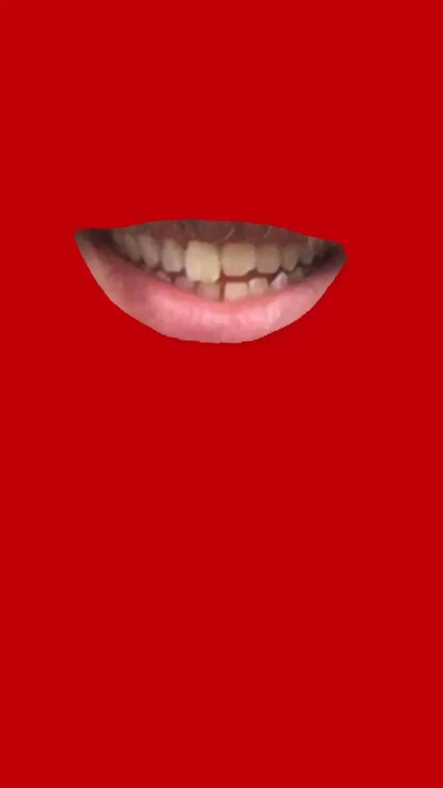 Instagram filter Just a Mouth