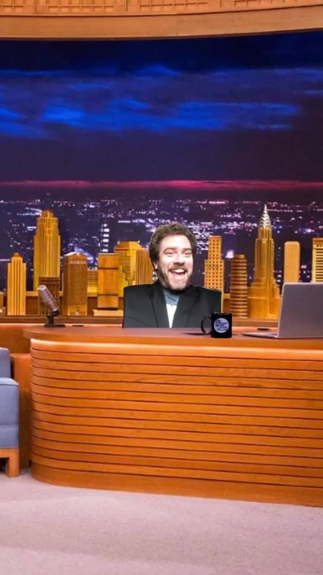 Instagram filter The Tonight Show